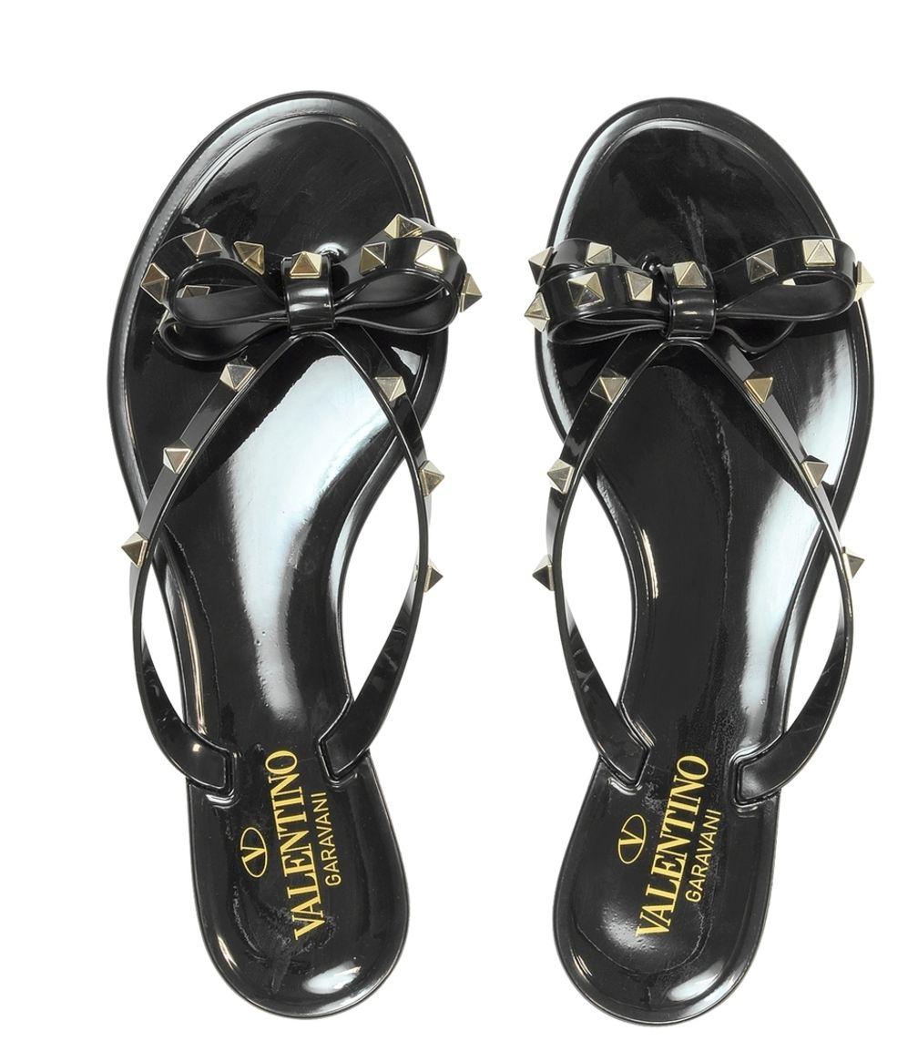 VALENTINO FLIP FLOPS | Black flip flops