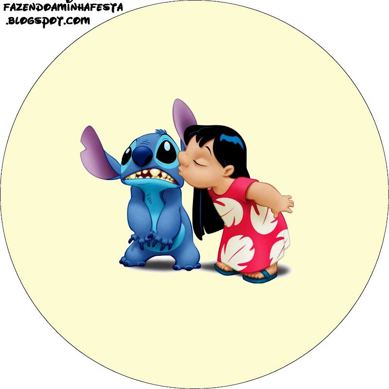 Lilo And Stitch Birthday Banner Lilo And Stitch Baby: Lilo And Stich: Free Printables And Images.