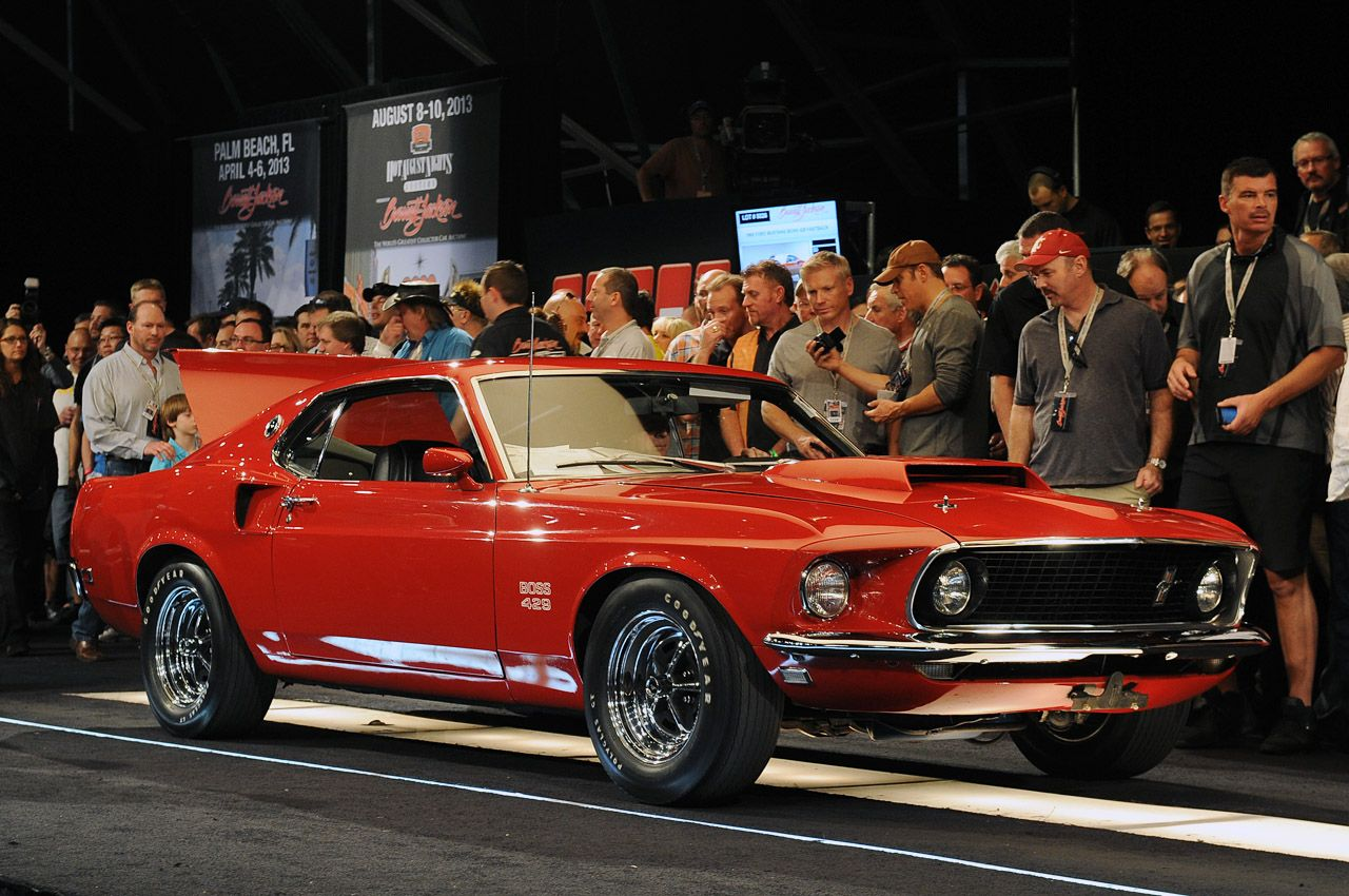 Rare 1969 Ford Mustang Boss 429 Red Less Than 1000 Were Produced