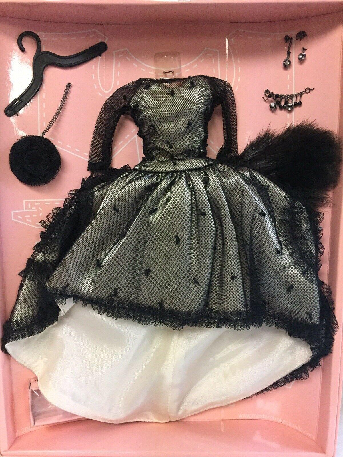 FM Boulevard FR JACKET Mix /& Match Clothes for Fashion Royalty Silkstone Barbie