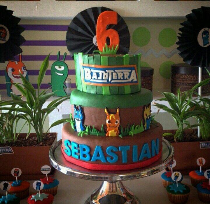 Slugterra Cake Slugterra Birthday Minion Birthday Cake