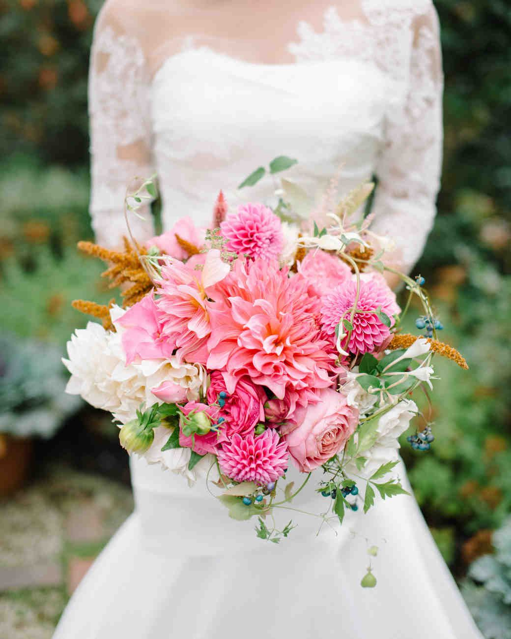 Pink Dahlia Wedding Bouquet Dahlia Wedding Bouquets Dahlias Wedding Wedding Bouquets Pink