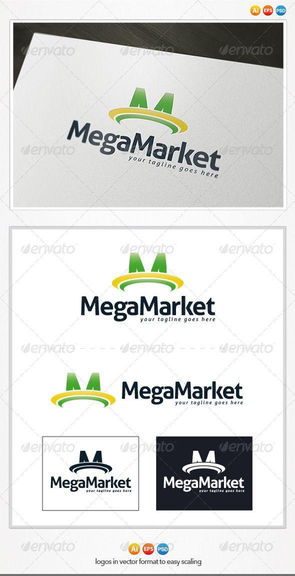 Maga Market Logo agency app bio brand company energy – Company Bio Template