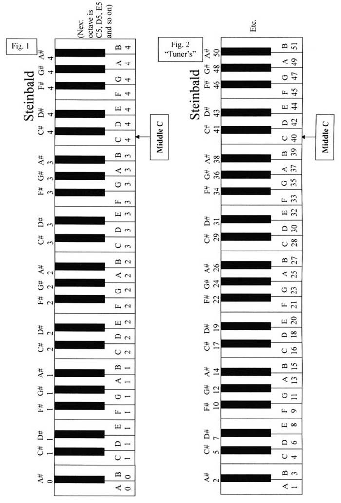 This is a picture of Eloquent 61 Key Piano Labeled