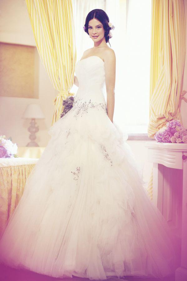 Collezione abiti da sposa #Colet 2013, abito da #sposa COAB13500IVGY