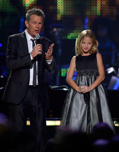 David Foster And Jackie Evancho Photos Photos David Foster And Friends In Concert Jackie Evancho Jackie The Fosters