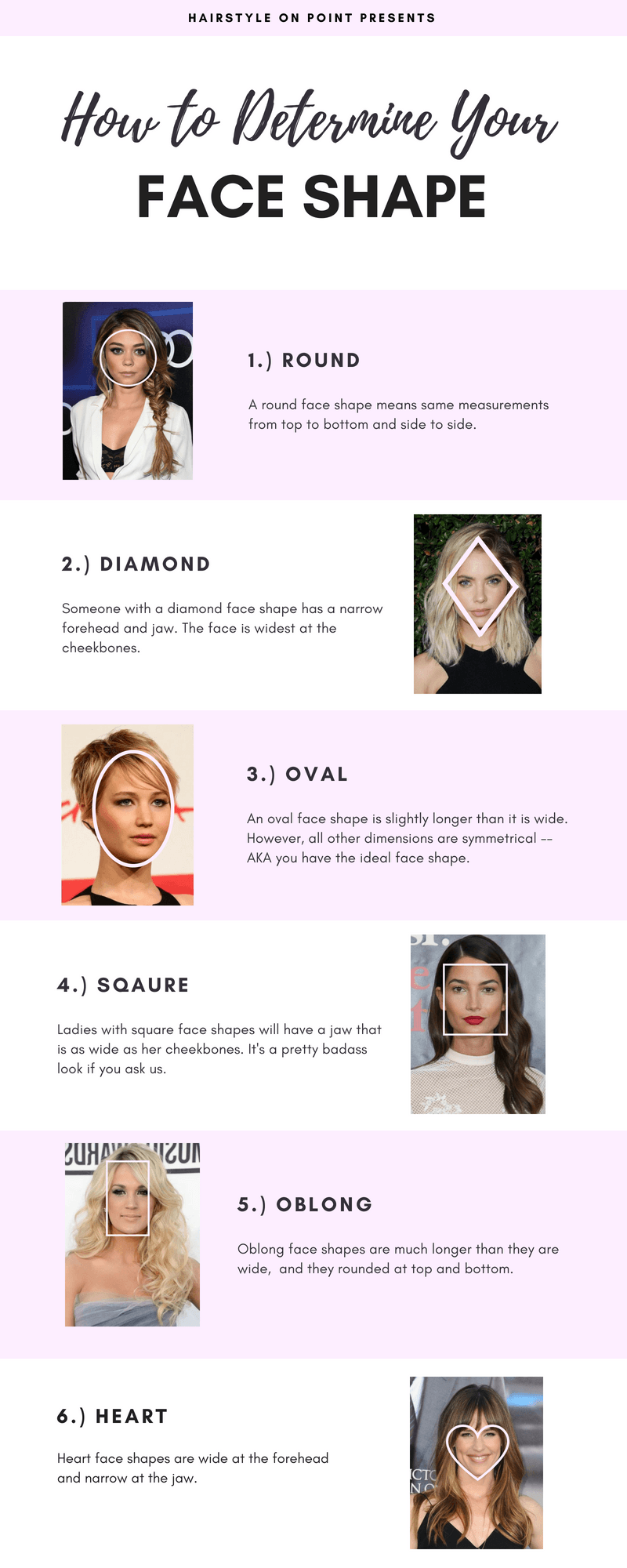 the best hairstyles for each face shape   hairstyle trends
