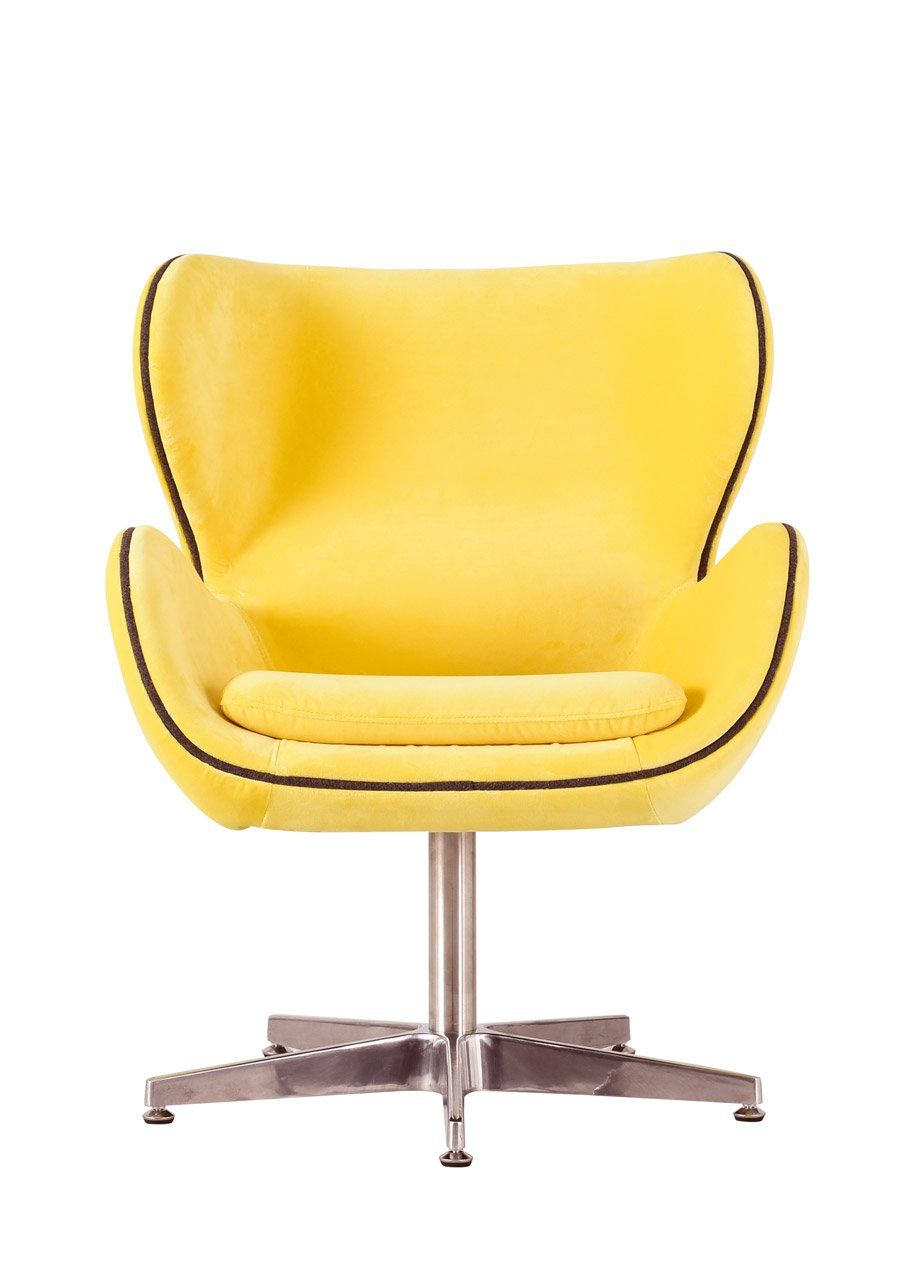 Yellow Kapow Velvet Chair Retro Chair Pink Desk Chair Swinging