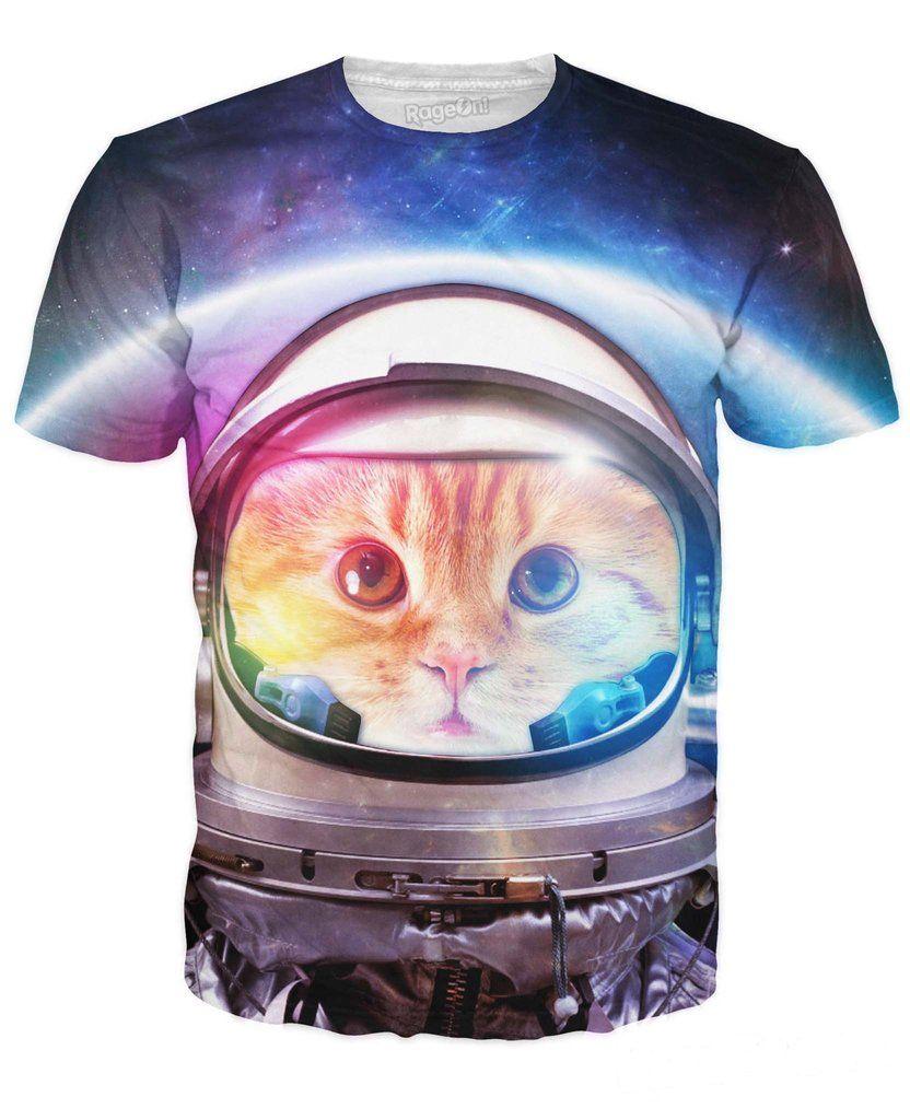 Space Cat T Shirt Cat Sweatshirt Cat Tshirt Cat T [ 1024 x 832 Pixel ]