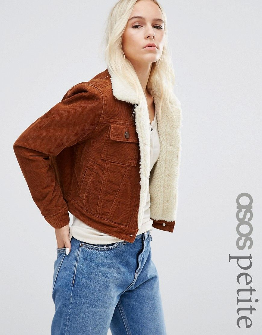 Petite veste en jean courte