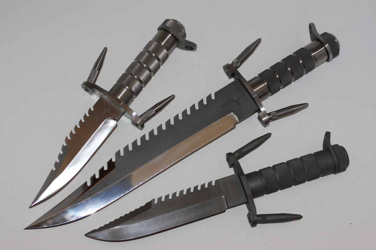 Buck 184 Buckmaster Survival Knife Prototypes Survival