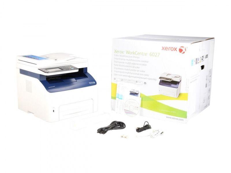 Xerox Workcentre 6027 Ni Wireless Multi Function Color