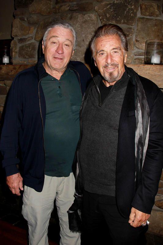 Robert De Niro And Al Pacino Robert Pacino Robert De Niro Und