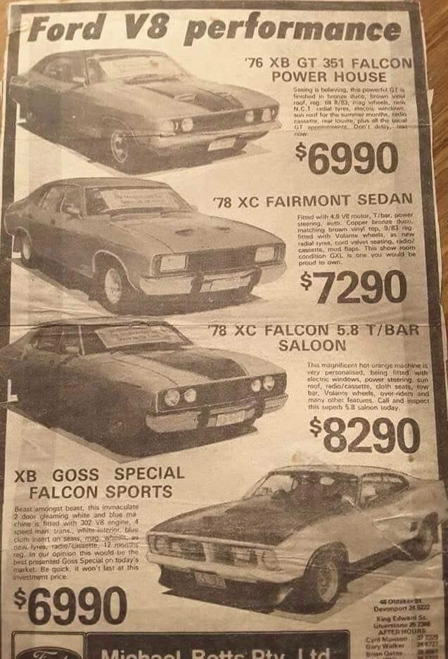 Todays Specials Vintage Muscle Cars Hot Rods Cars Muscle Australian Muscle Cars