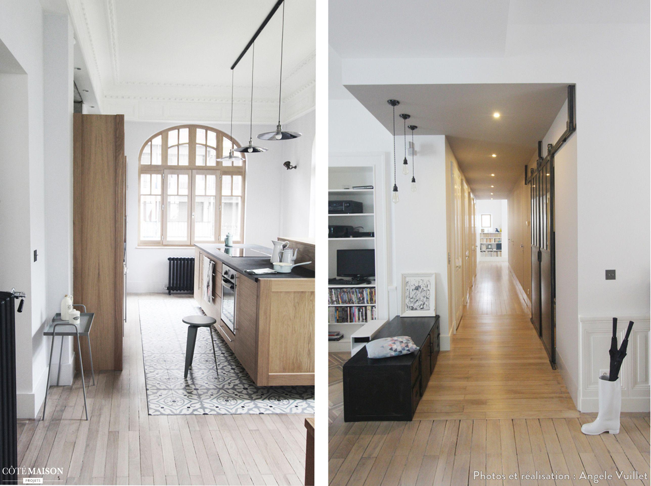 Renovation D 039 Un Appartement Angele Vuillet Cote Maison Maison