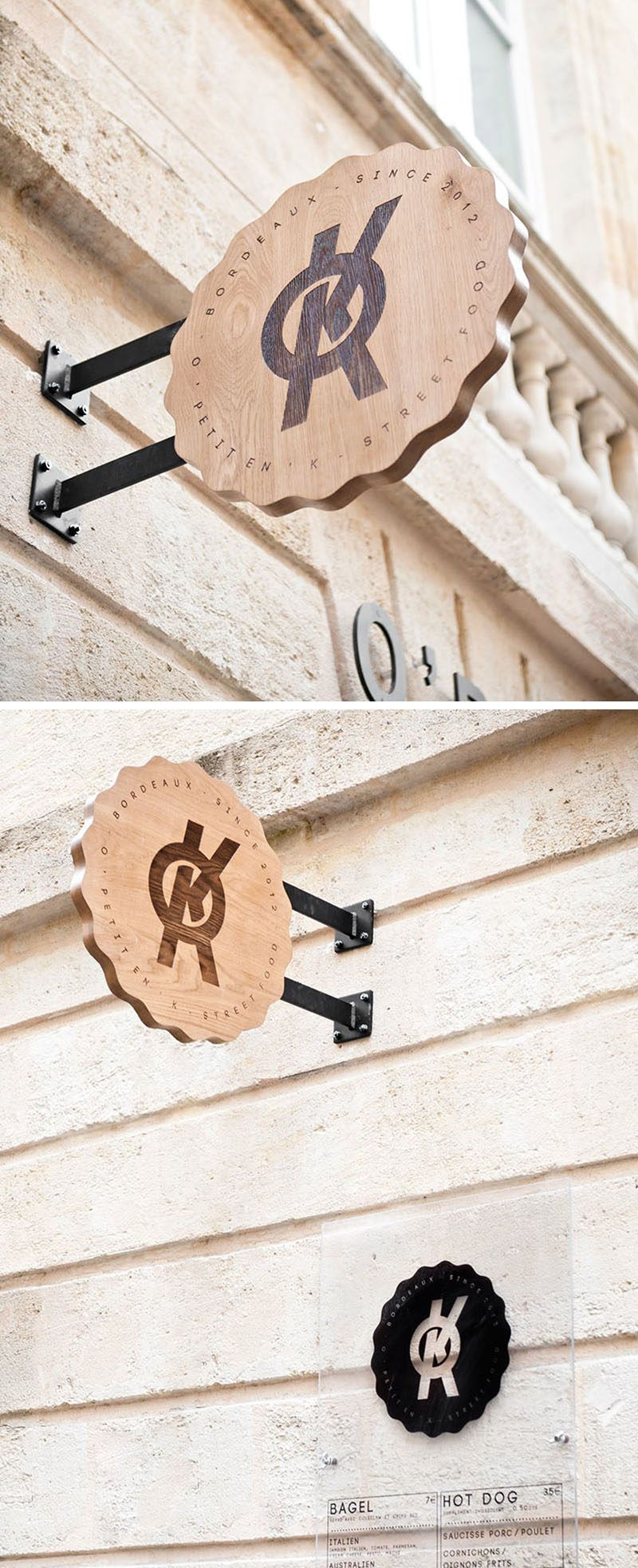 Meglio Neon O Led 9 design ideas for creative and modern wood signs   wood
