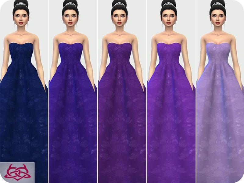 Magnífico Sims 3 Vestido De Boda Ideas Ornamento Elaboración ...