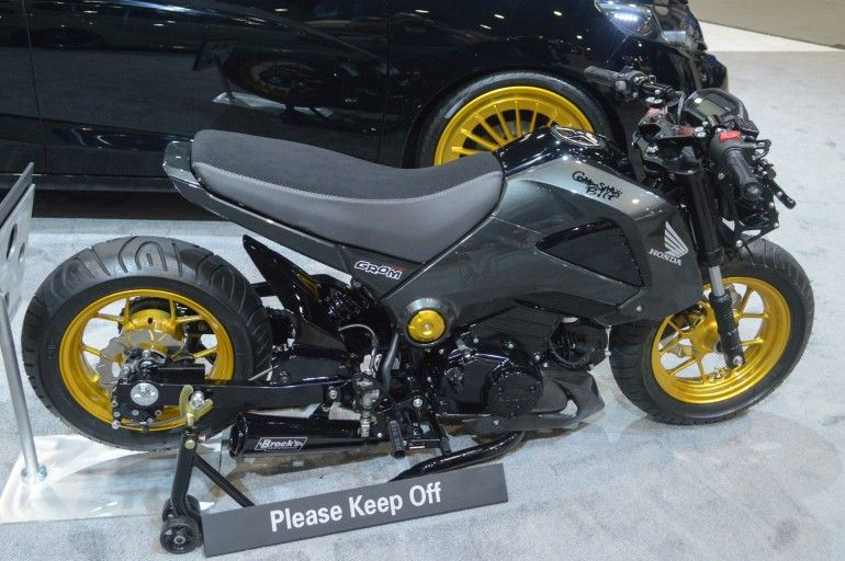 2015 Honda Grom modified by MAD Industries and ComposiMo ...