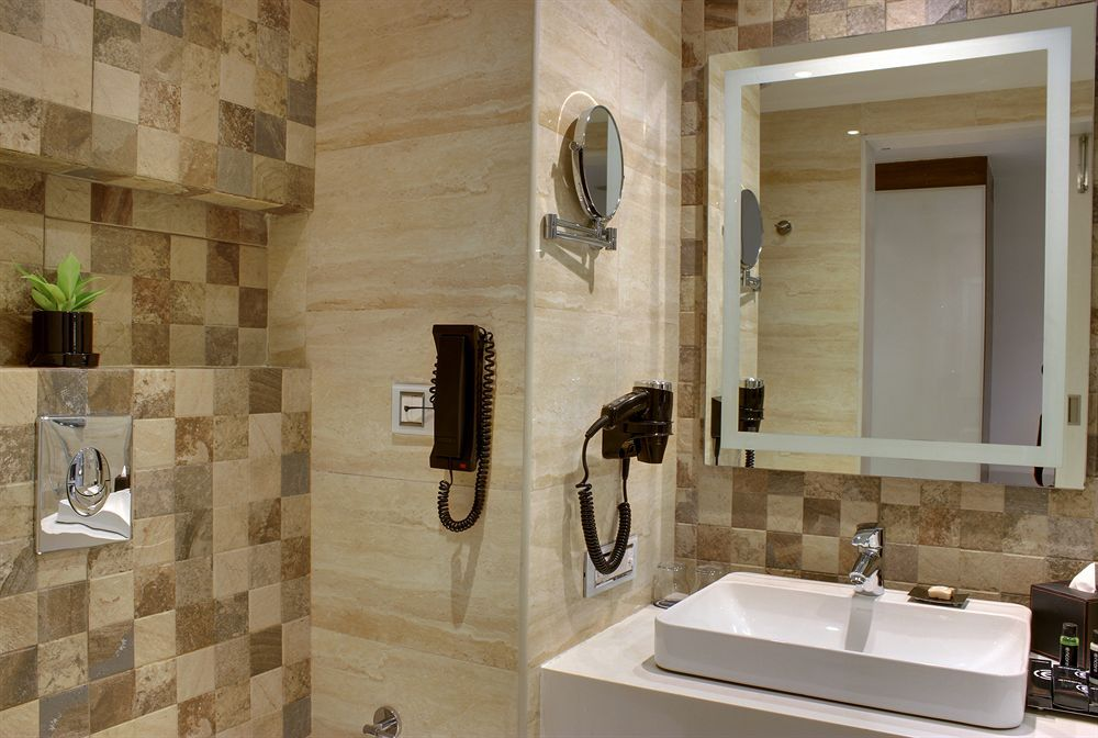 ramada encore bangalore domlur check out the tiles great color combination - Bathroom Tiles Color Combination