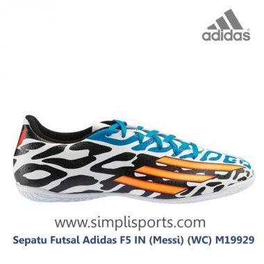 Sepatu Futsal Adidas F5 In Messi Wc M19929 Ori Sepatu
