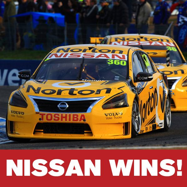 Nissan Altima S First Place Win In The V8 Supercars At Winton Plus 4 Other Nissan Winners Nissan Motorsport Racing