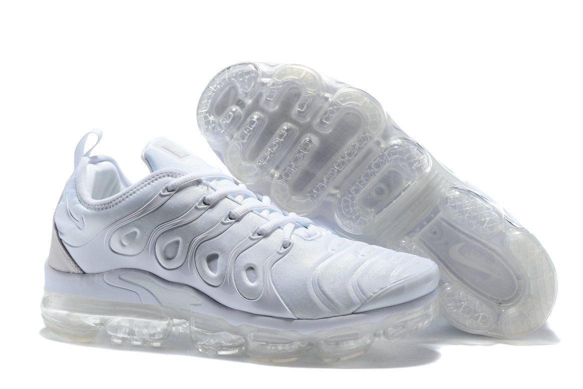 059e1c49f8b 2018 Cheap Nike Lab Air Vapor Max x Cheap Nike Air Vapormax Plus Total White