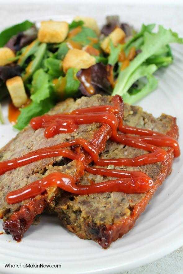 Whatcha Makin Now Meatloaf Using Ground Venison Venison Recipes Deer Meat Recipes Ground Venison Recipes