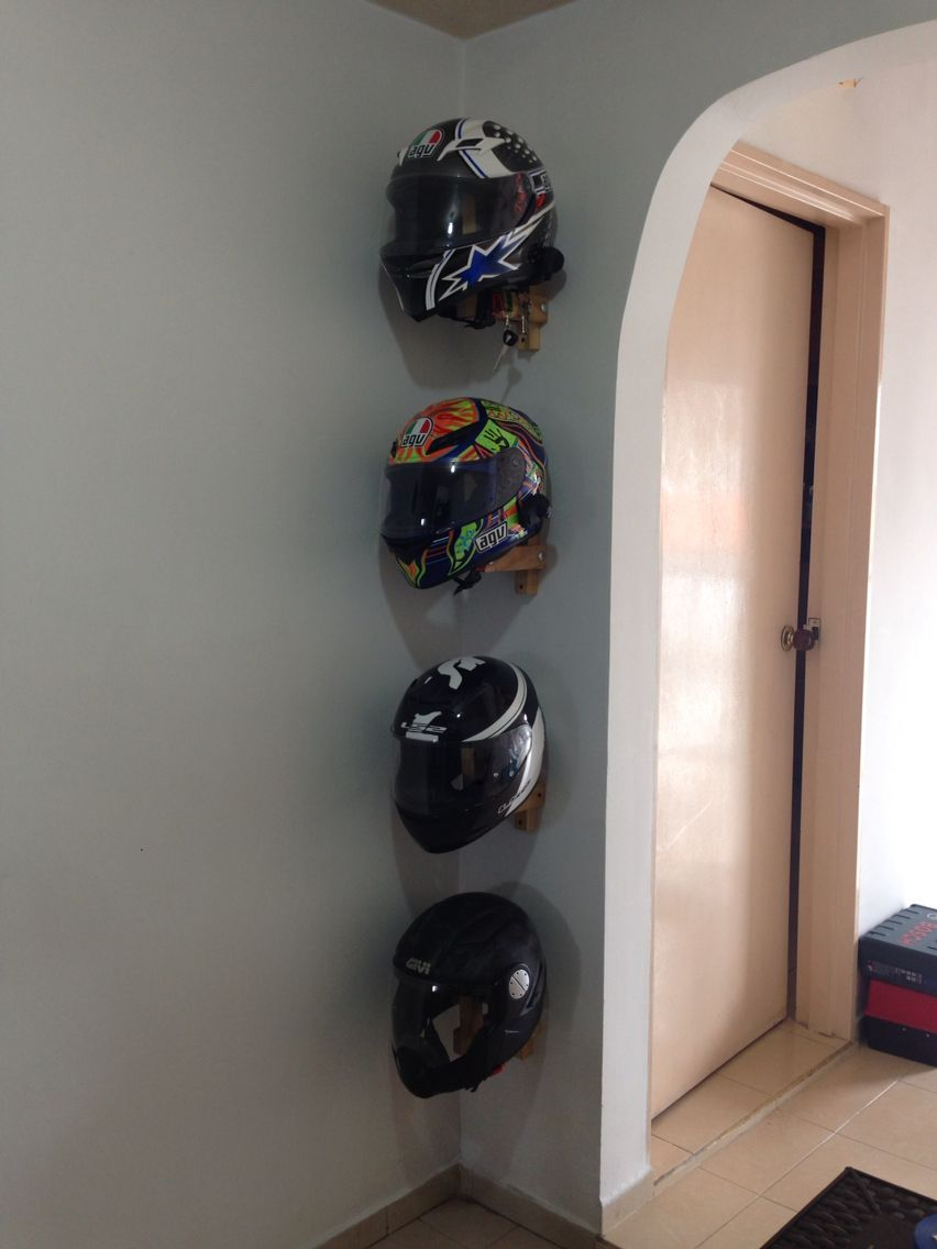Helmets Storage Finished Workshops In 2019 Motorcycle