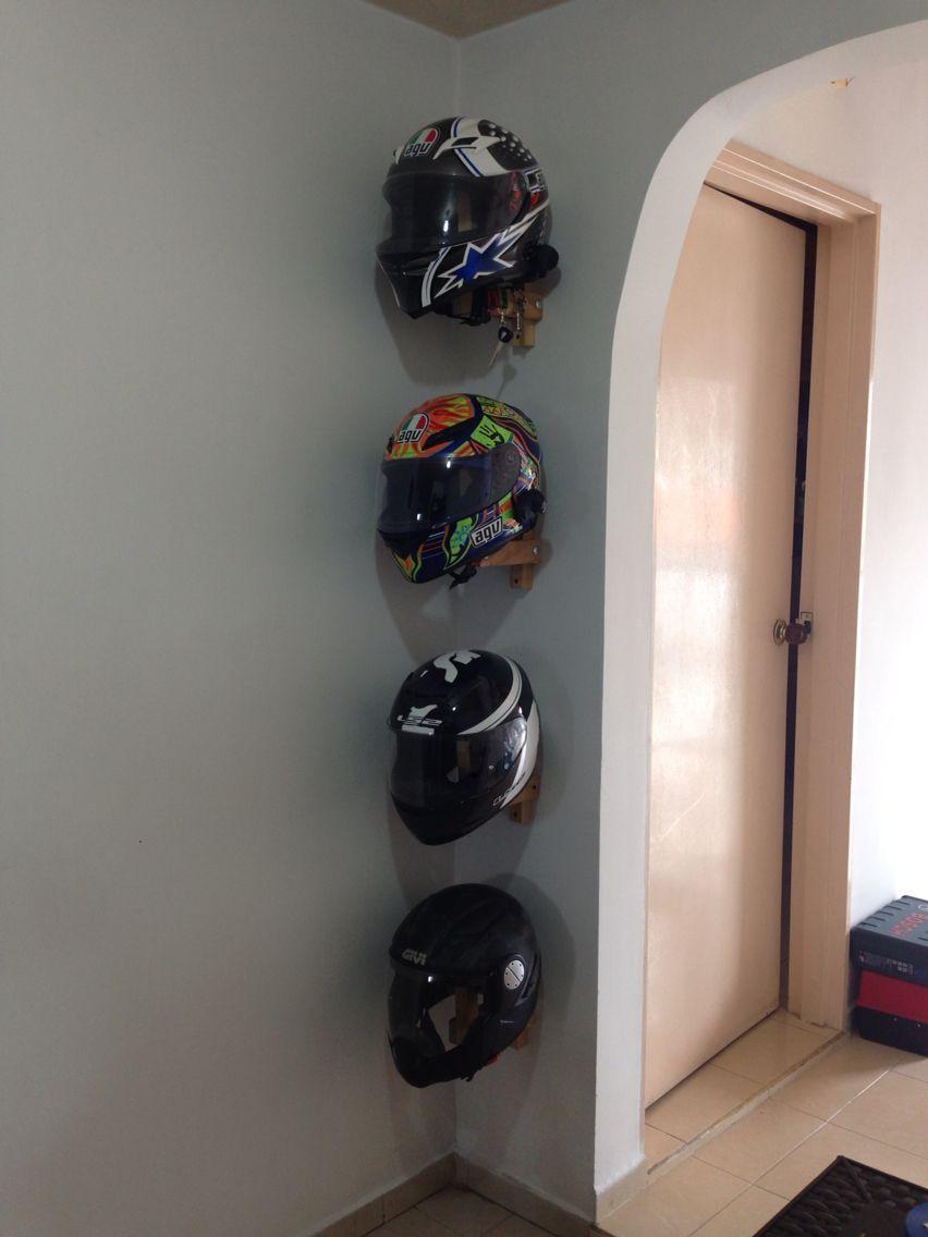 Helmets storage finished  Workshops in 2019  Motorcycle