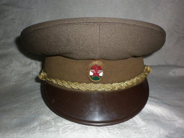 Magyar Néphadsereg tiszti tányérsapka 65M   Hungarian People s Army officers   model 1965 visor cap 5feb4206bbea