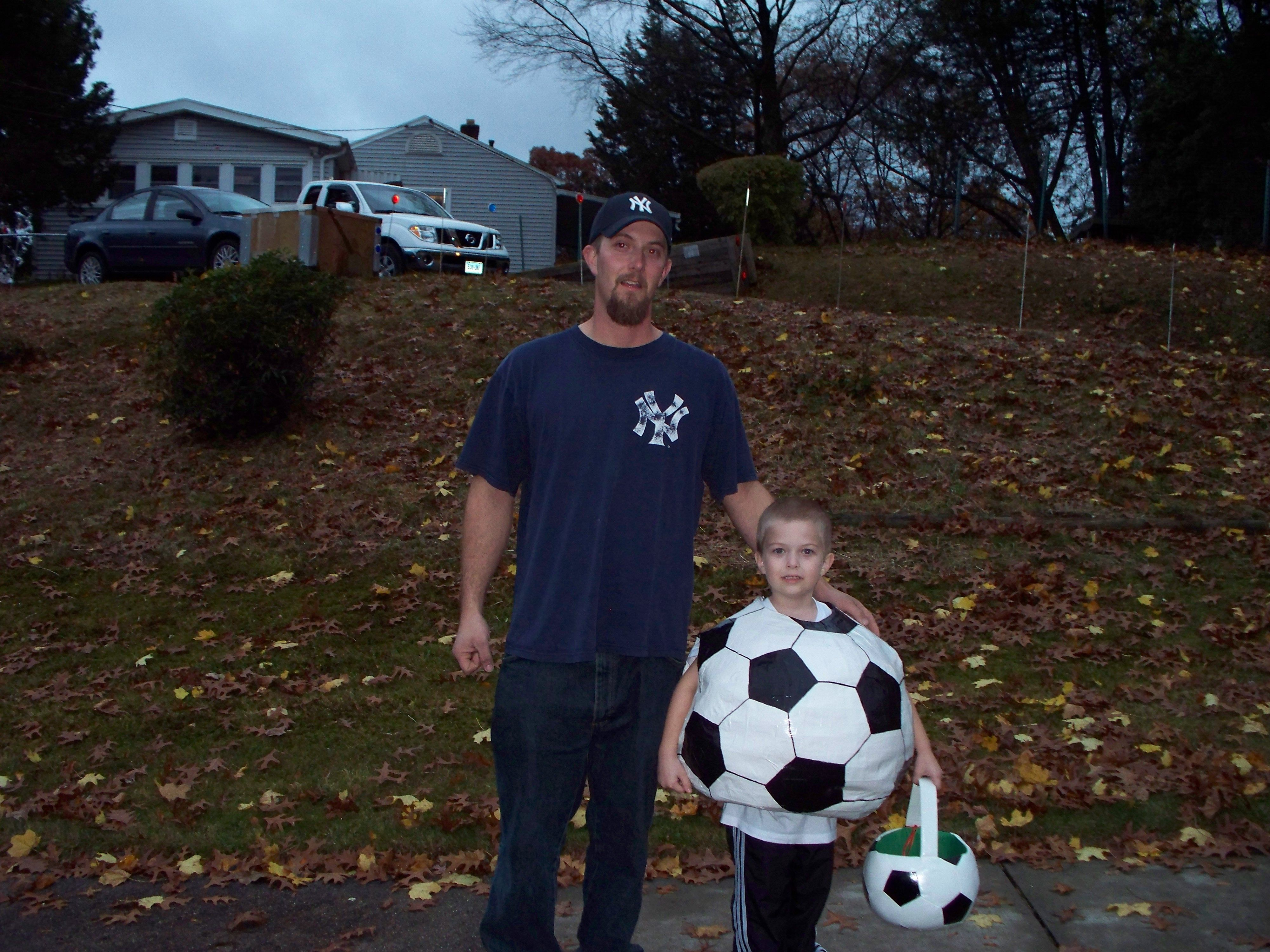 Homemade Soccer Ball Costume Cakes And Creative