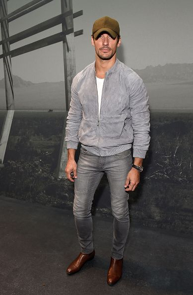 David Gandy attends the Coach 1941 Spring Summer 2017 Men ...