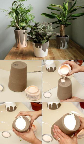 15 Simple Ideas How to Transform a Flower Pot #flowerpot