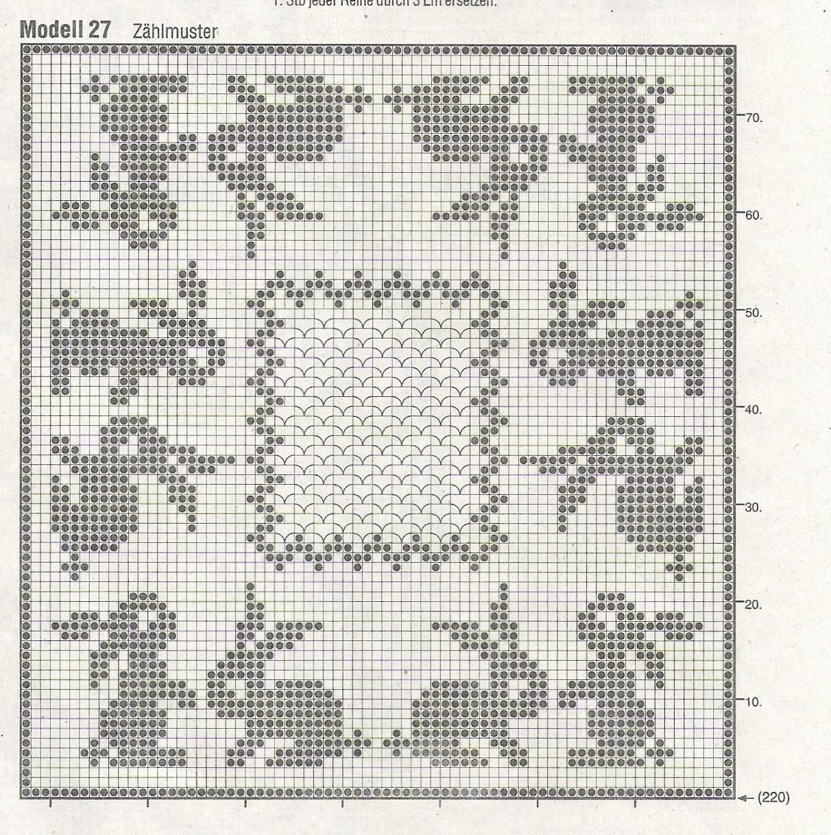 0_dc566_2ec77be5_orig (1212×1218) | Filet häkeln | Pinterest ...