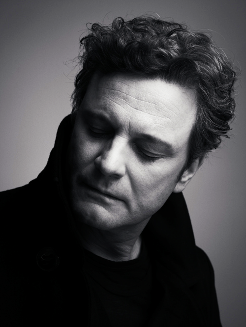 despite the fact I do not like Mr. Firth, the portrait is just  gorgeous