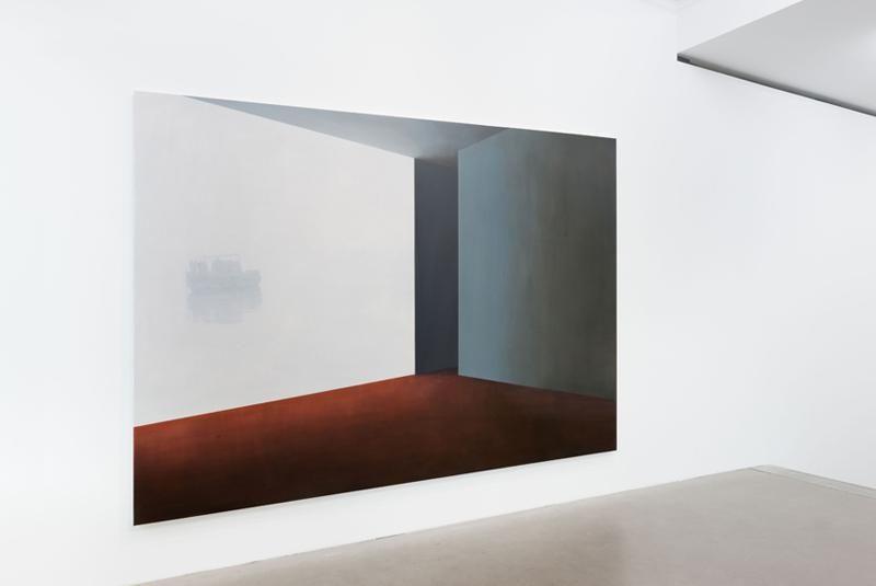 Tim Eitel, Nebel und Sonne Exhibition, 2014 Installation view, Galerie EIGEN + ART Berlin