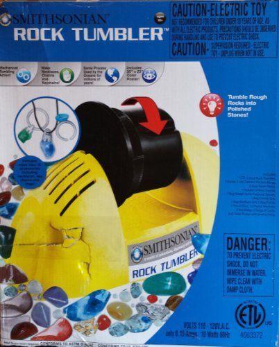 NSI//Smithsonian 49005 Rock Tumbler