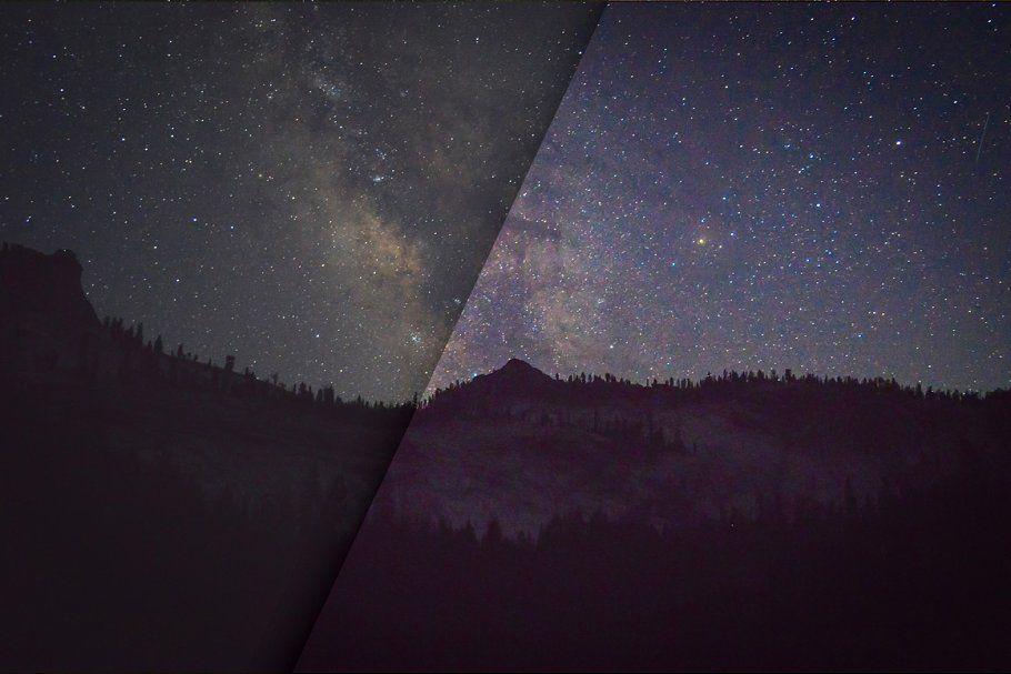 Stars Night Sky Lightroom Presets Sky Night Stars Actions Lightroom Presets Milky Way Photography Lightroom