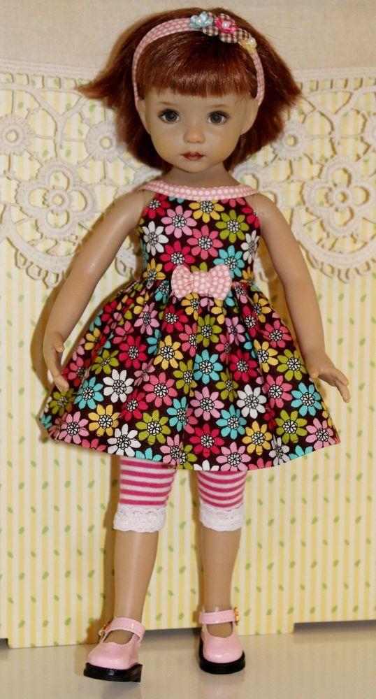 "~Summer Basics~Posies & Stripes & Dots~fits 13"" Effner Little Darling~"