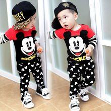 762f117ac Mickey establece para bebés ropa trajes Minnie Mouse niños impresión ...