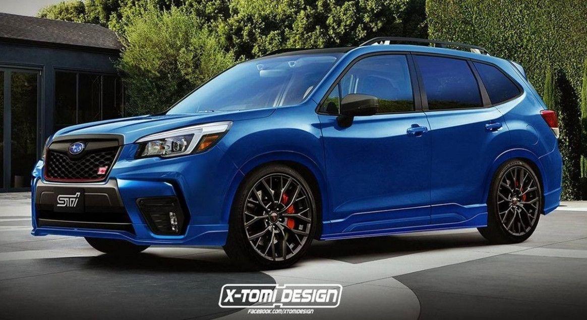 2020 Subaru Forester Xt in 2020 Subaru forester sti