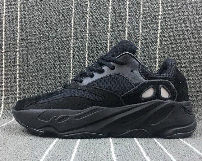 da8745f4ac9b2a adidas Yeezy Boost 700 Wave Runner Triple Black For Sale