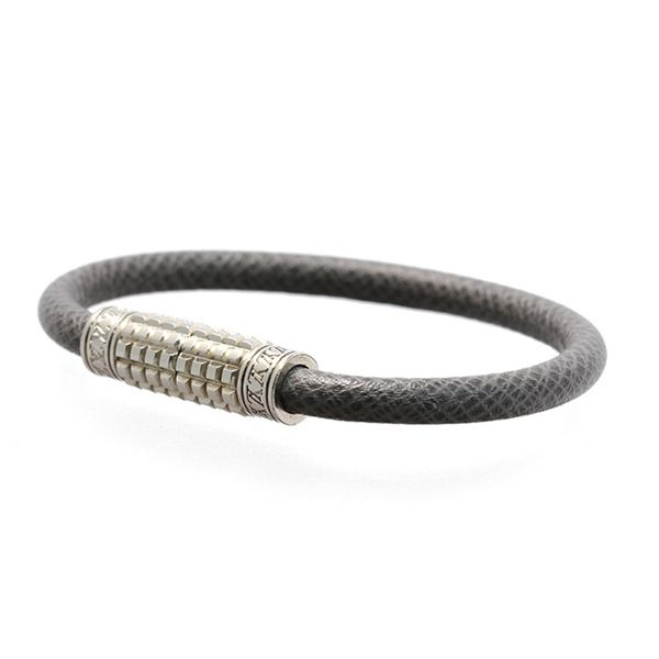 Louis Vuitton Glacier Taiga Leather Men S Digit Bracelet 149 99