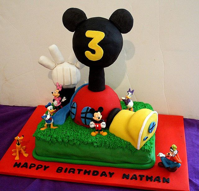 Nathans Mickey Mouse Clubhouse Cake Clubhouses Mice And Cake