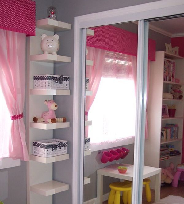15 Corner Wall Shelf Ideas To Maximize Your Interiors Storage Kids Room Small Kids Room Remodel Bedroom
