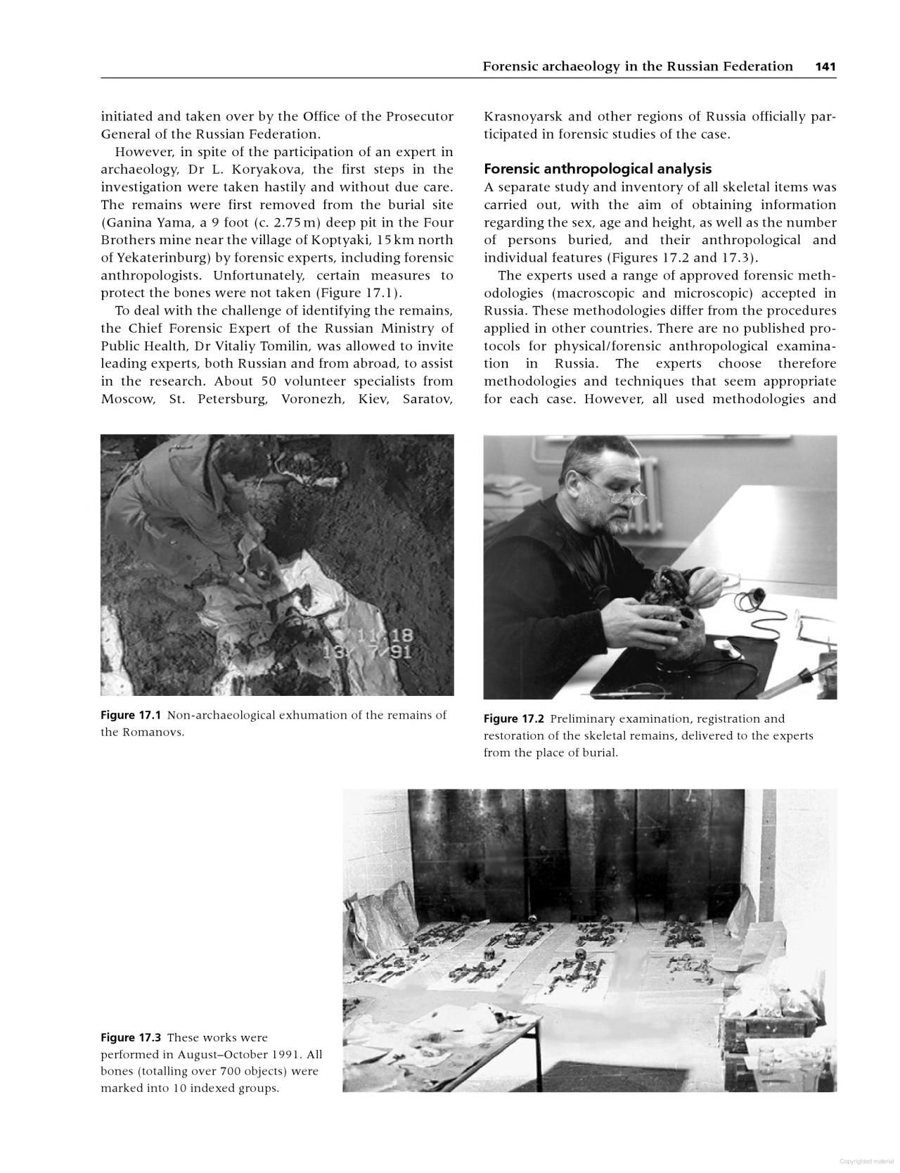 Forensic Archaeology Forensics First Step