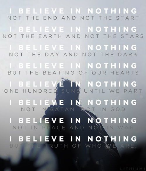 30 Seconds To Mars I Believe In Nothing 30 Seconds To Mars 30