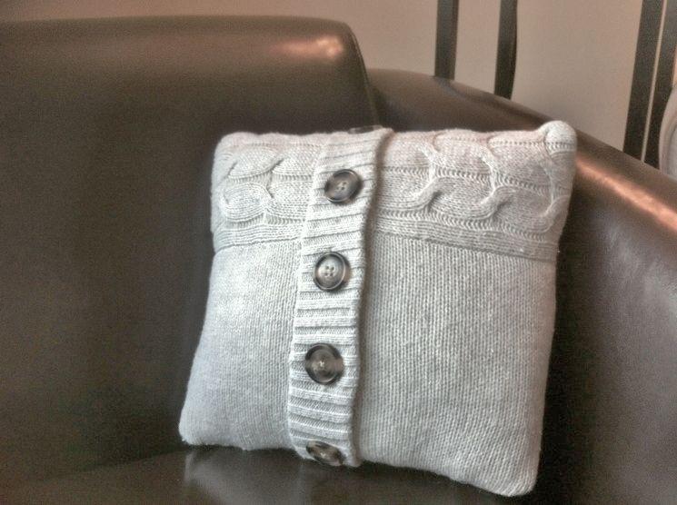 diy sweater pillow - Google Search