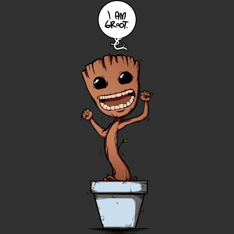 Potted Grootie by Design-By-Humans.deviantart.com on @DeviantArt ...