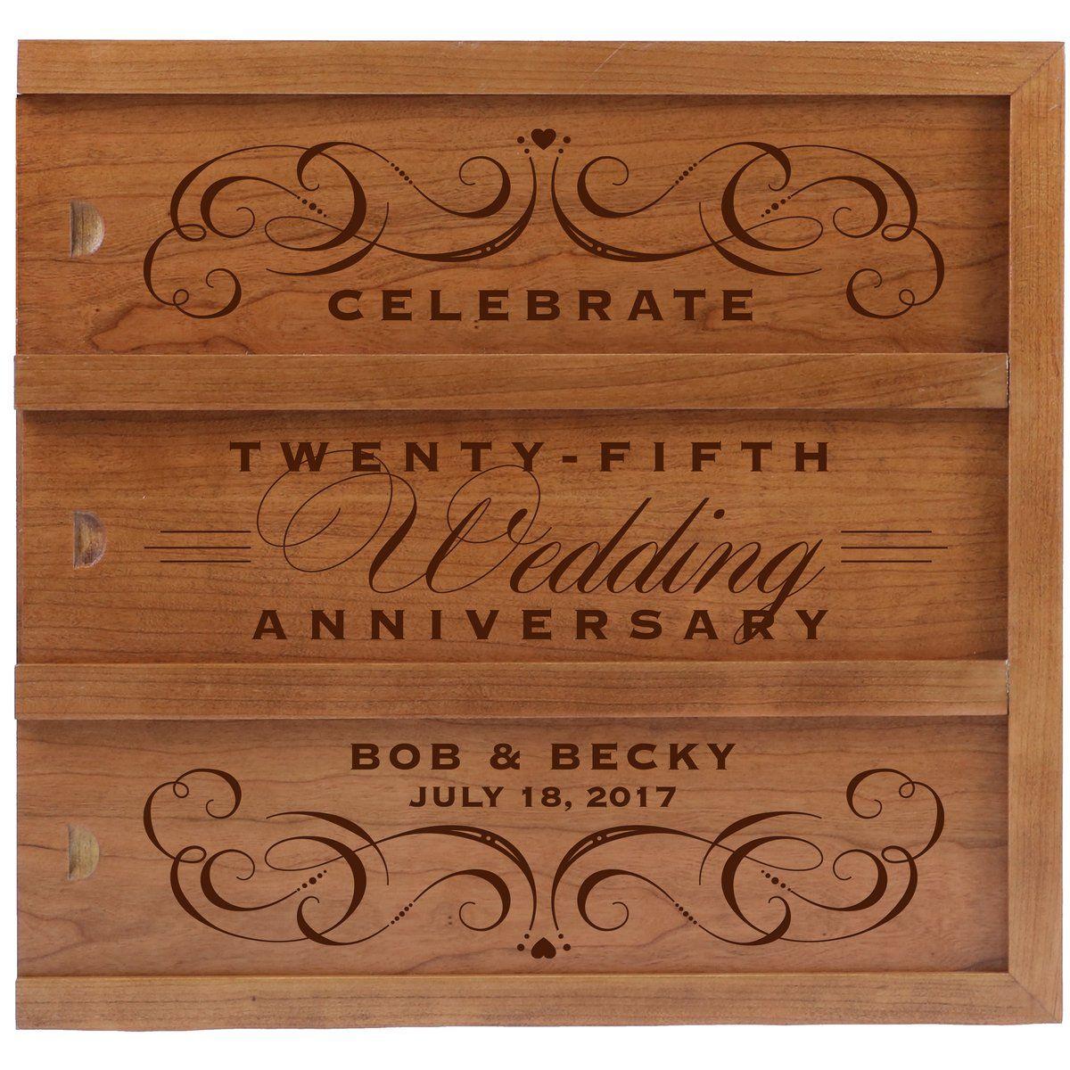 Celebrate Anniversary, Anniversary wine box, 25th